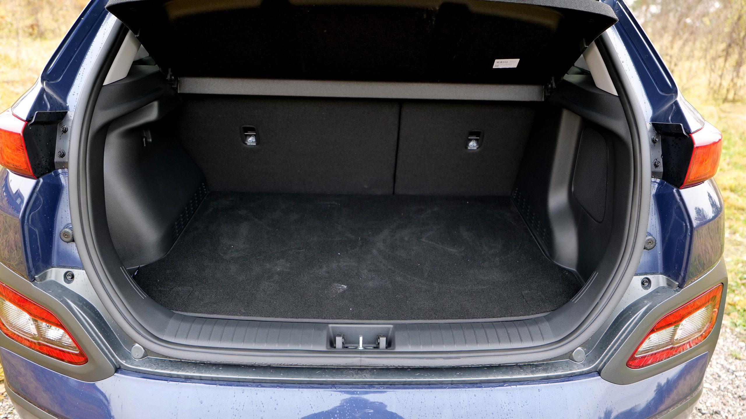 Hyundai Kona Electric trunk