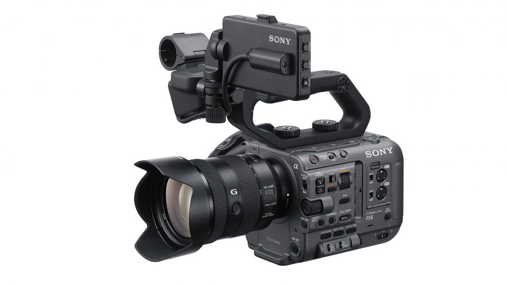 Sony Cinema Line FX6 01