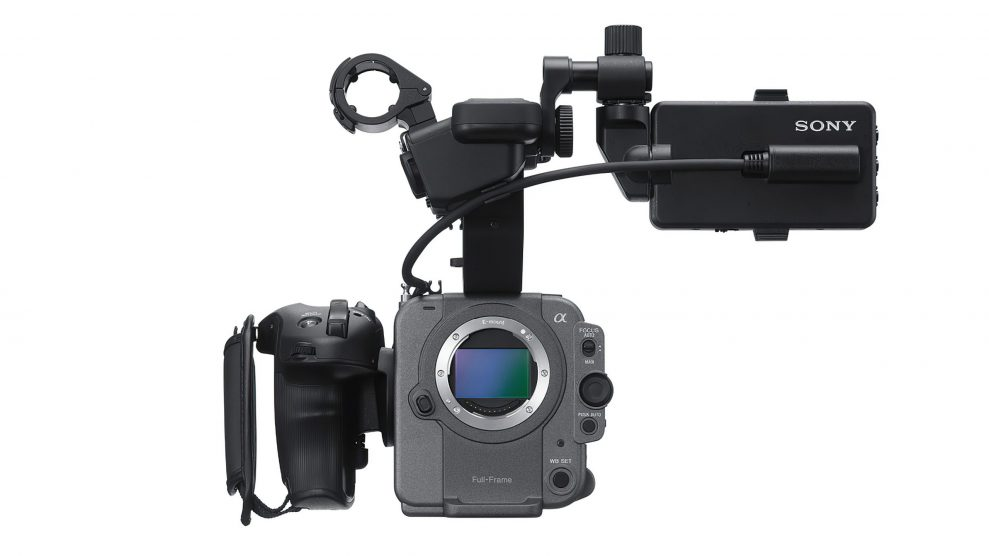 Sony FX6 front