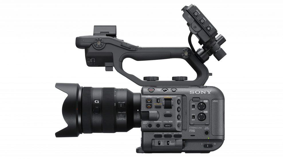 Sony FX6 side
