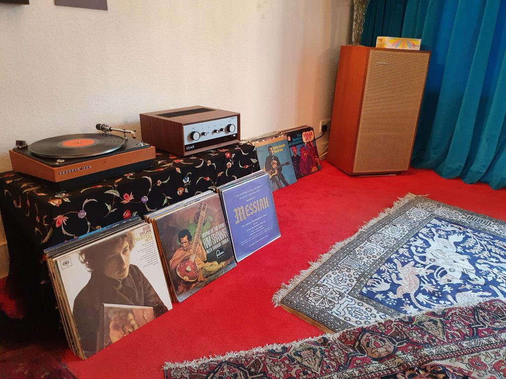 Jimi Hendrix bedroom Photo Handel&Hendrix
