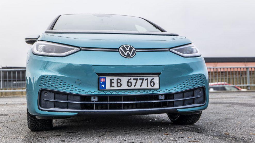 Volkswagen WV ID3 front