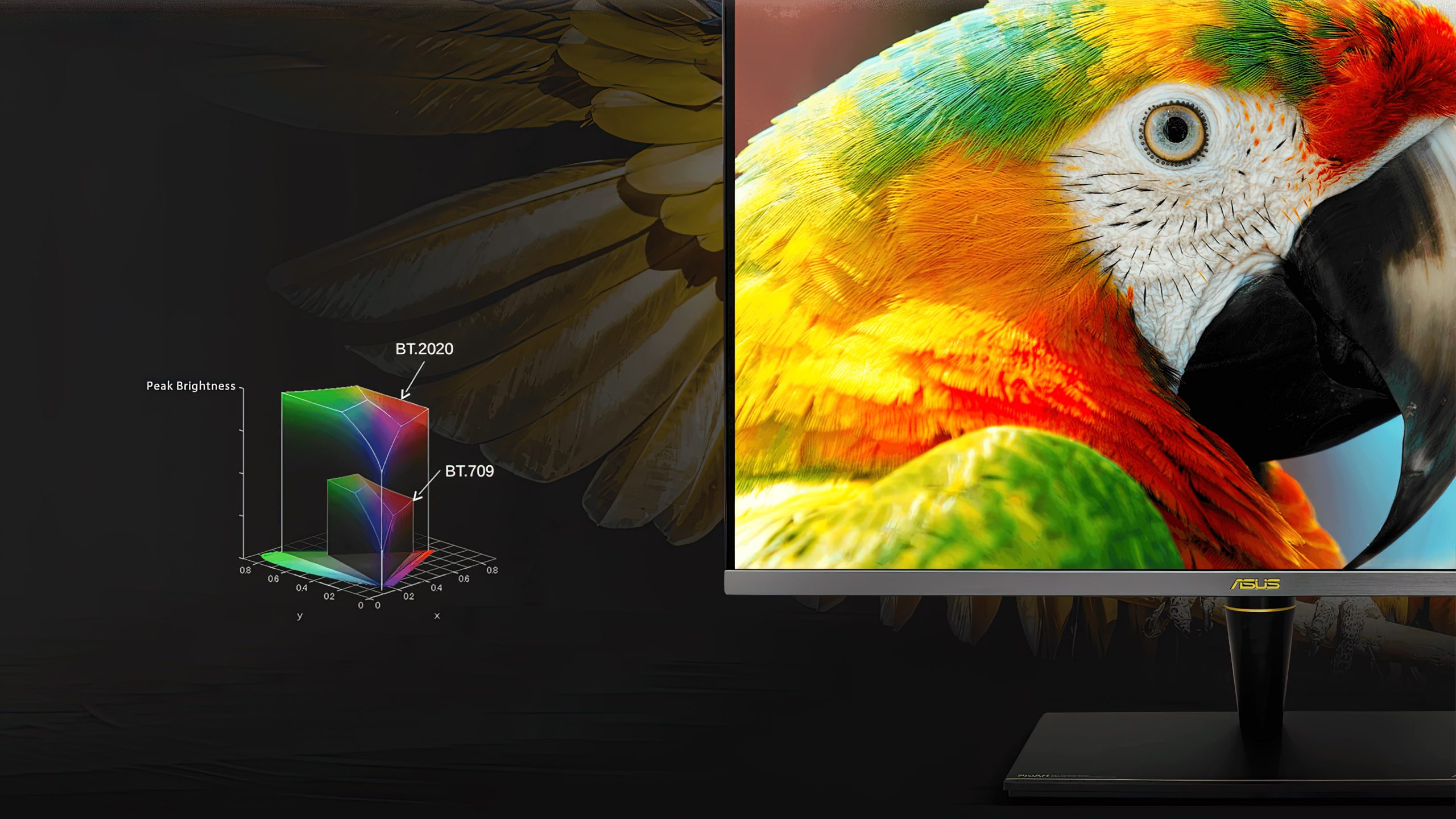 Asus pa32ucx color space