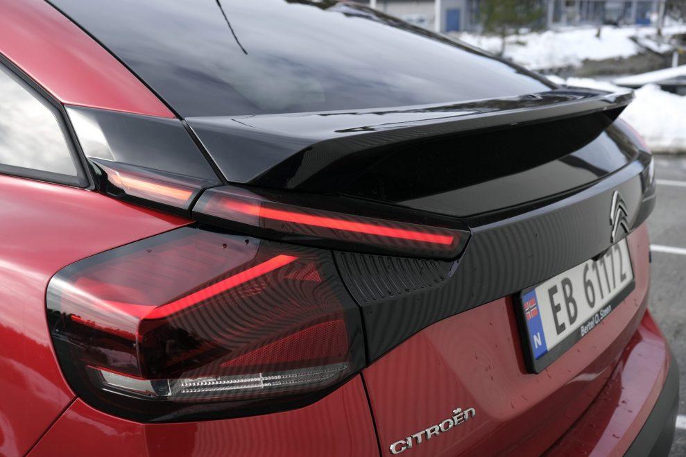 Citroën ë-C4 Shine bakvindu