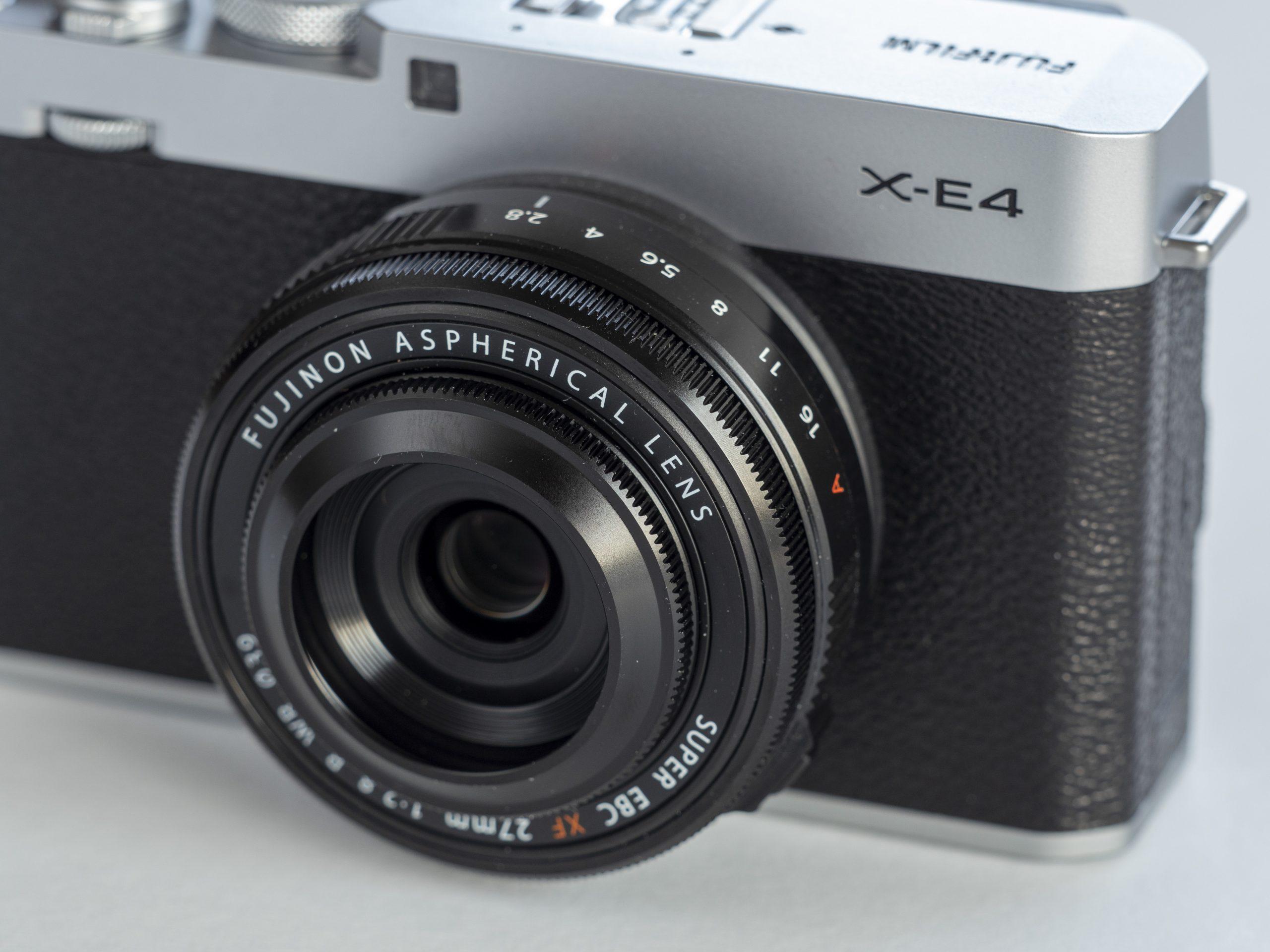 Fujifilm X-E4 front