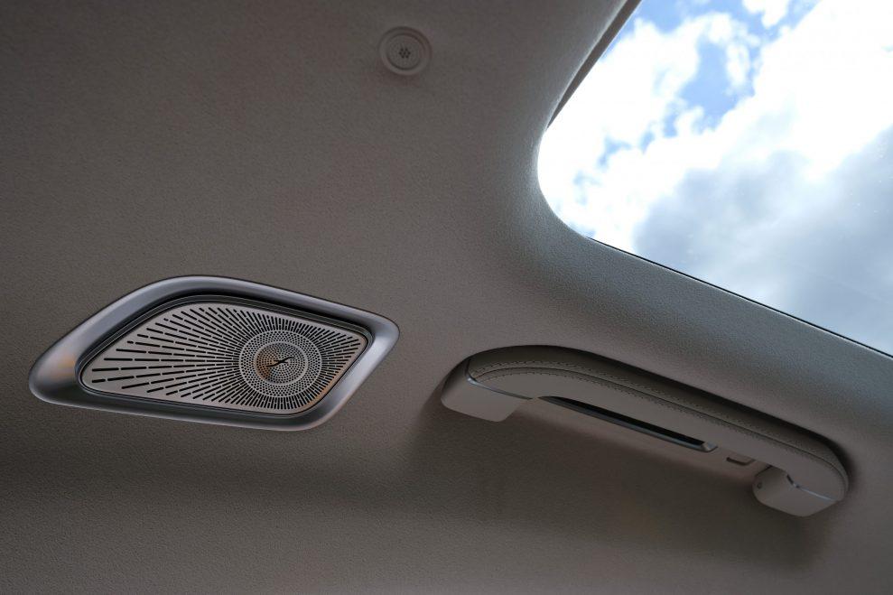 S-Klasse rear roof speaker