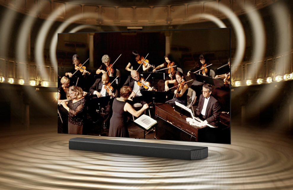 Samsung HW-Q950T soundbar Q Symphony
