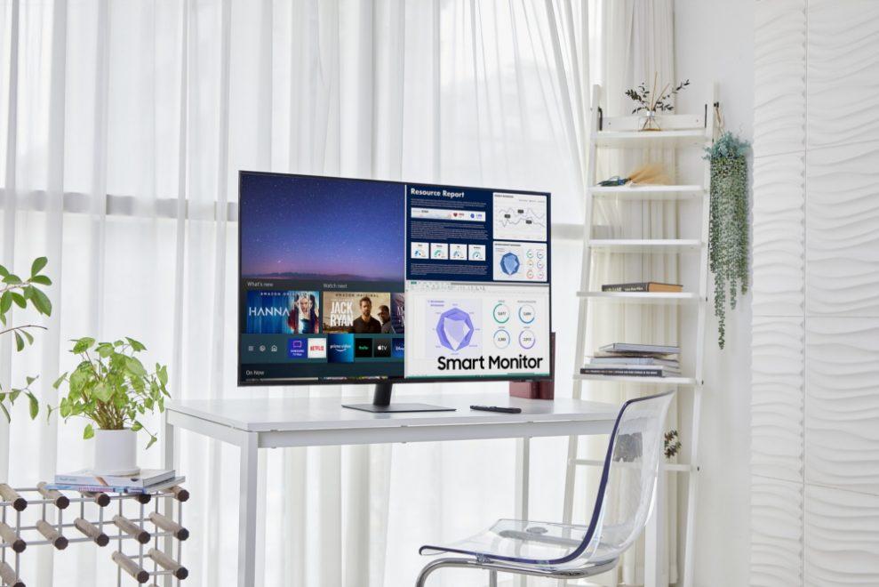 Samsung Smart Monitor i fler storlekar