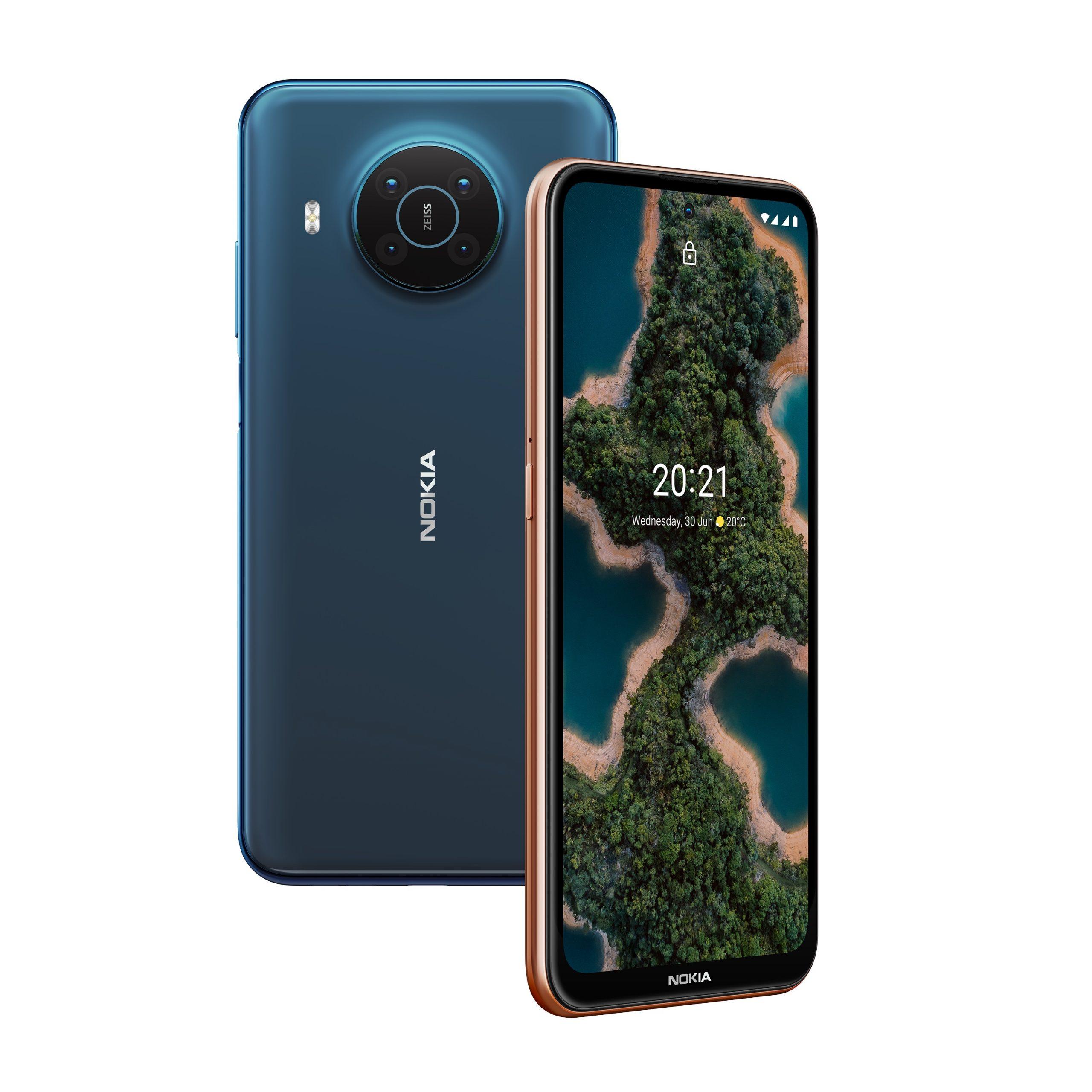 Nokia X20 cameras