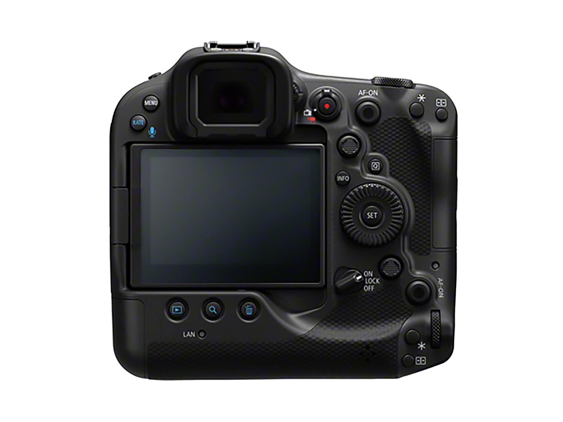 Canon EOS R3 back