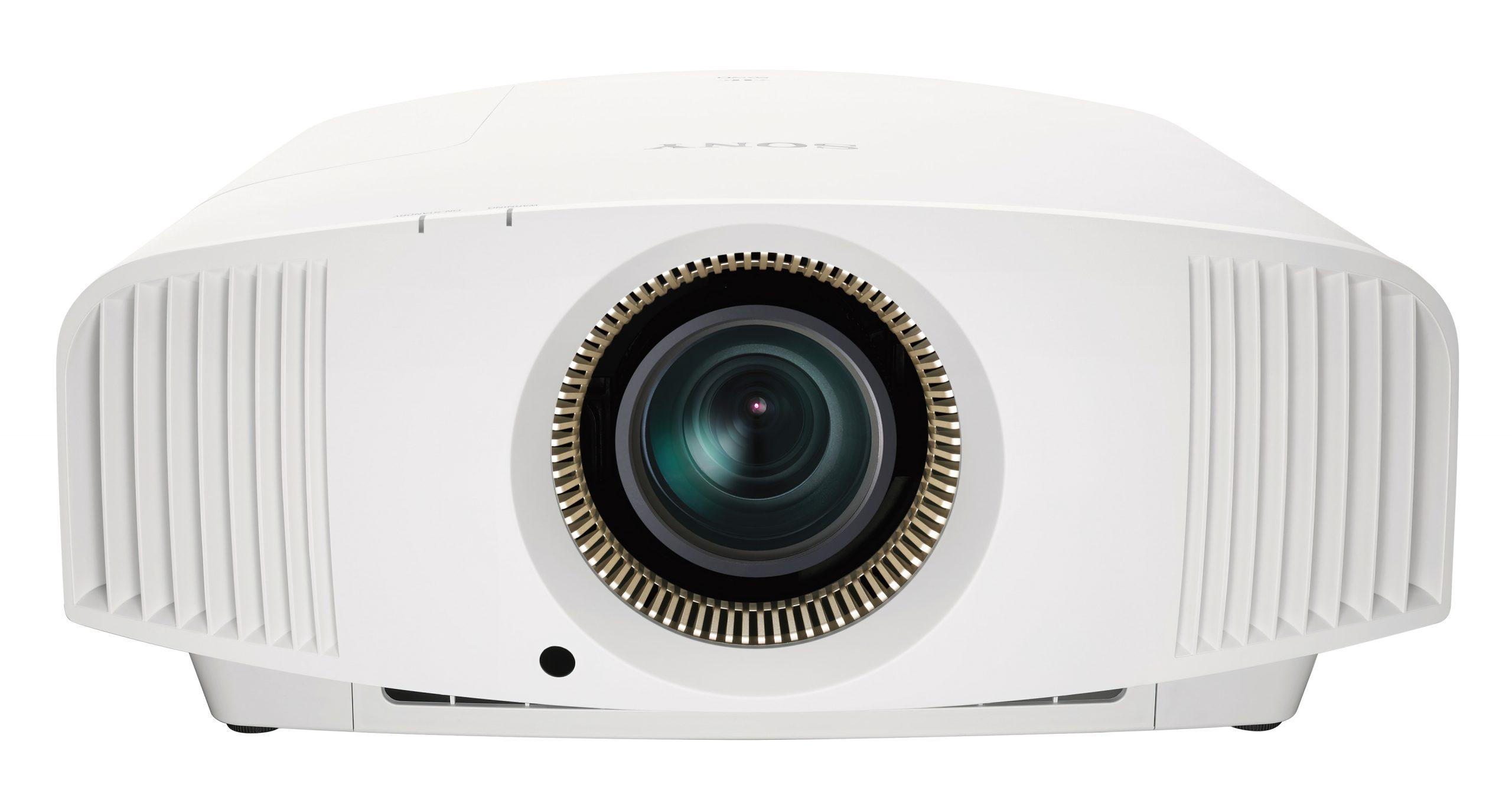 sony vpl-vw590es front white