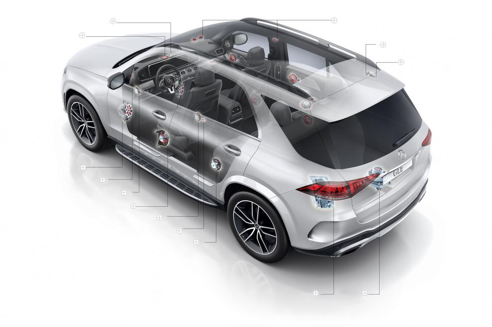 Burmester High-end 3D Surround System Mercedes GLE