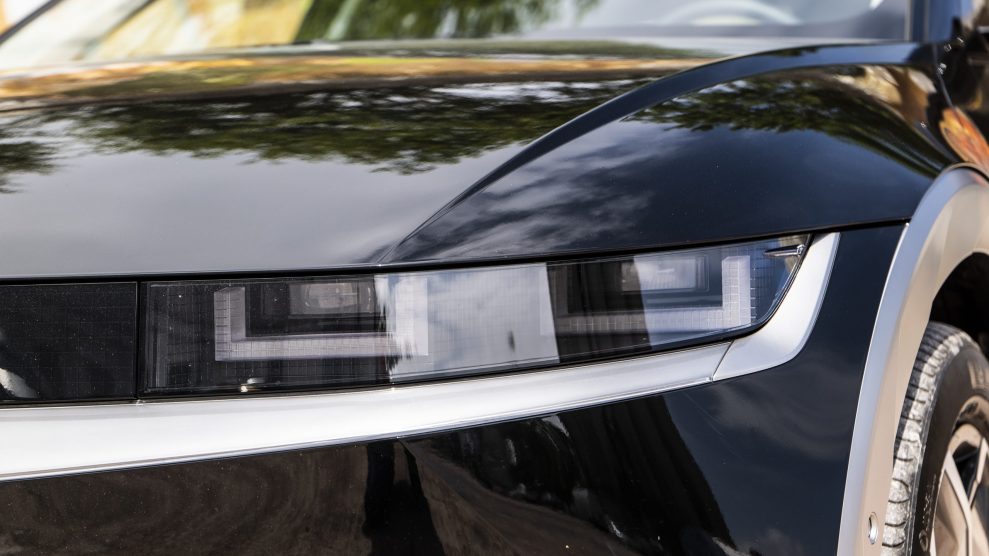 Hyundai IONIQ5 LED lights