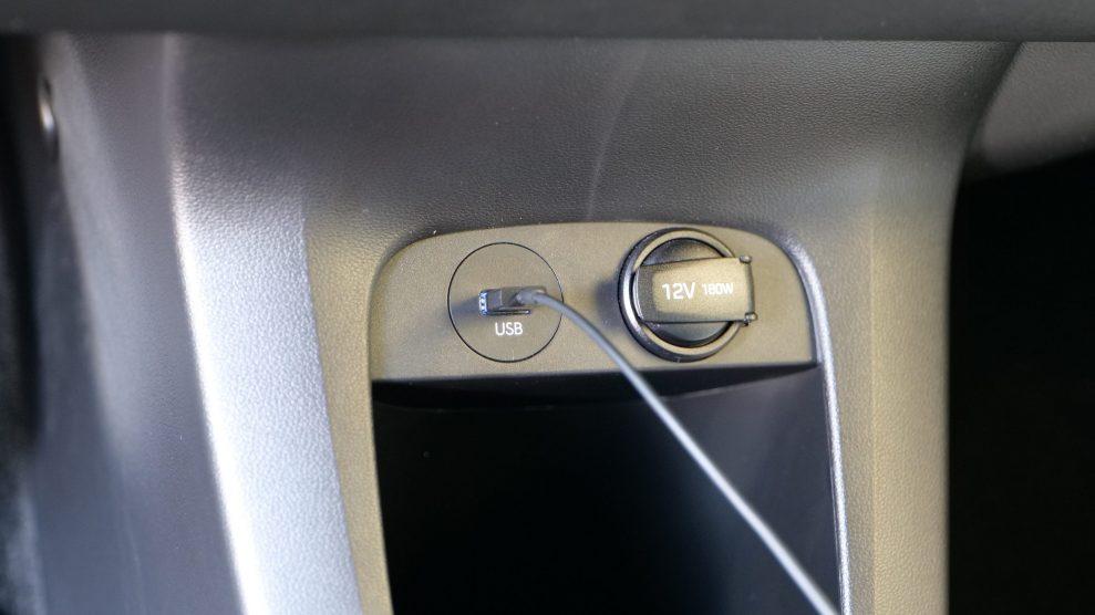 Hyundai IONIQ5 USB front