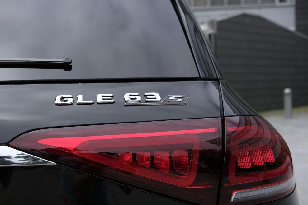 MB GLE 63s AMG logo
