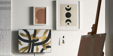 Hvis du ikke er tilfreds med det medleverede mønster, kan du købe løse stoframmer i varehuset. (Foto: IKEA)