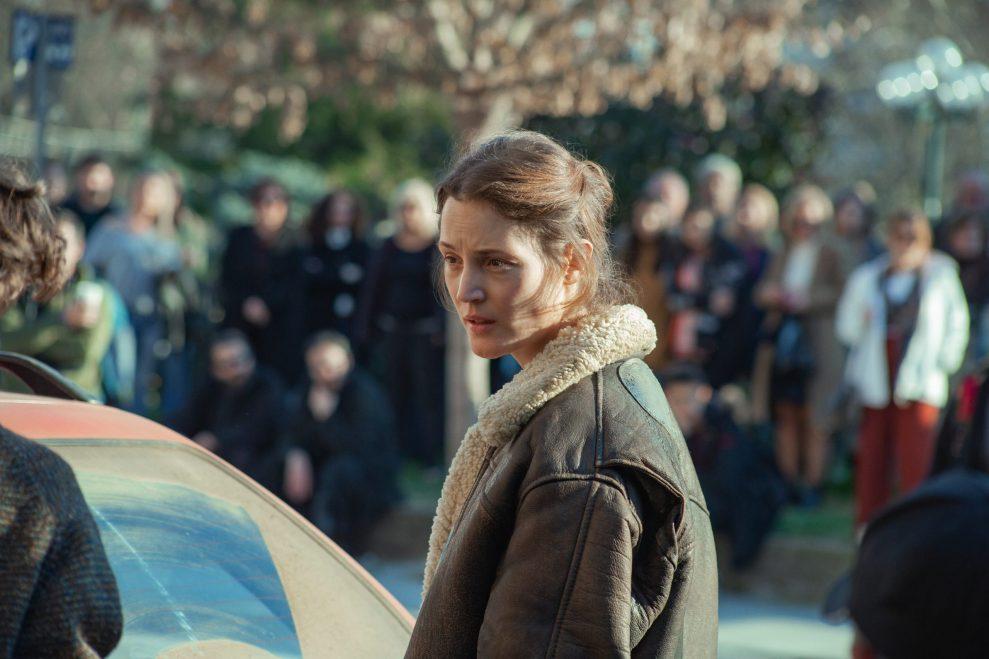 BECKETT (2021) Vicky Krieps as Lena.  Cr: Yannis Drakoulidis/NETFLIX
