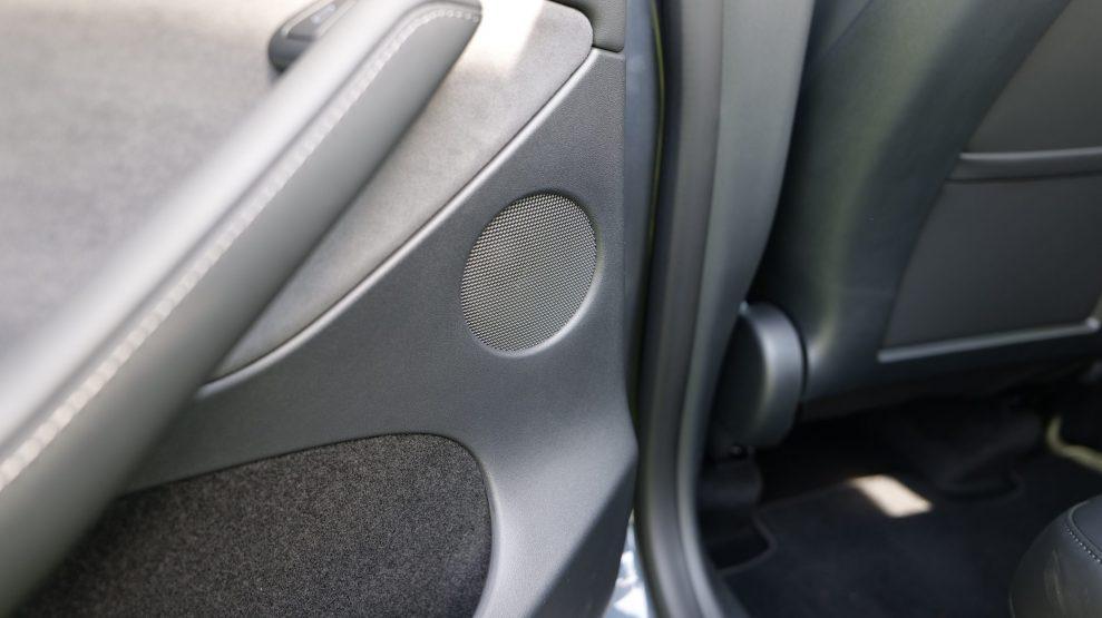 Tesla Model Y rear left speaker