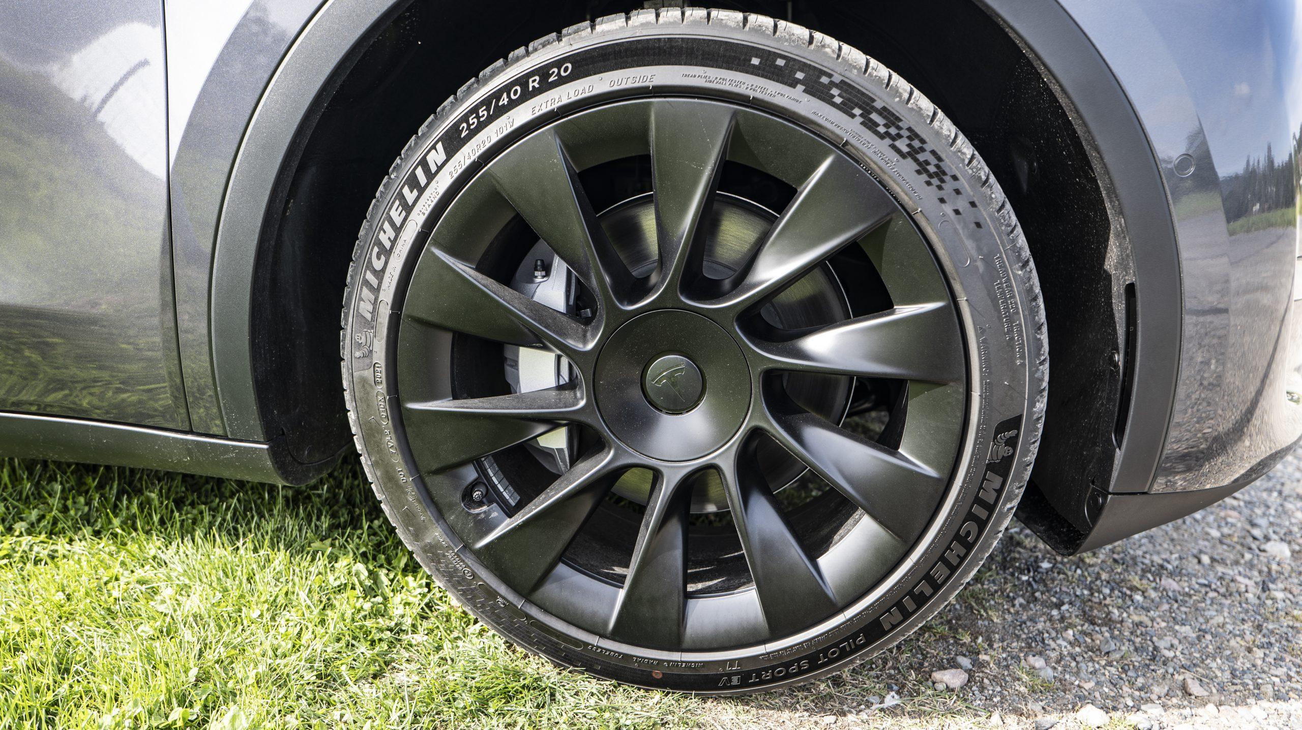 Tesla Model Y wheels