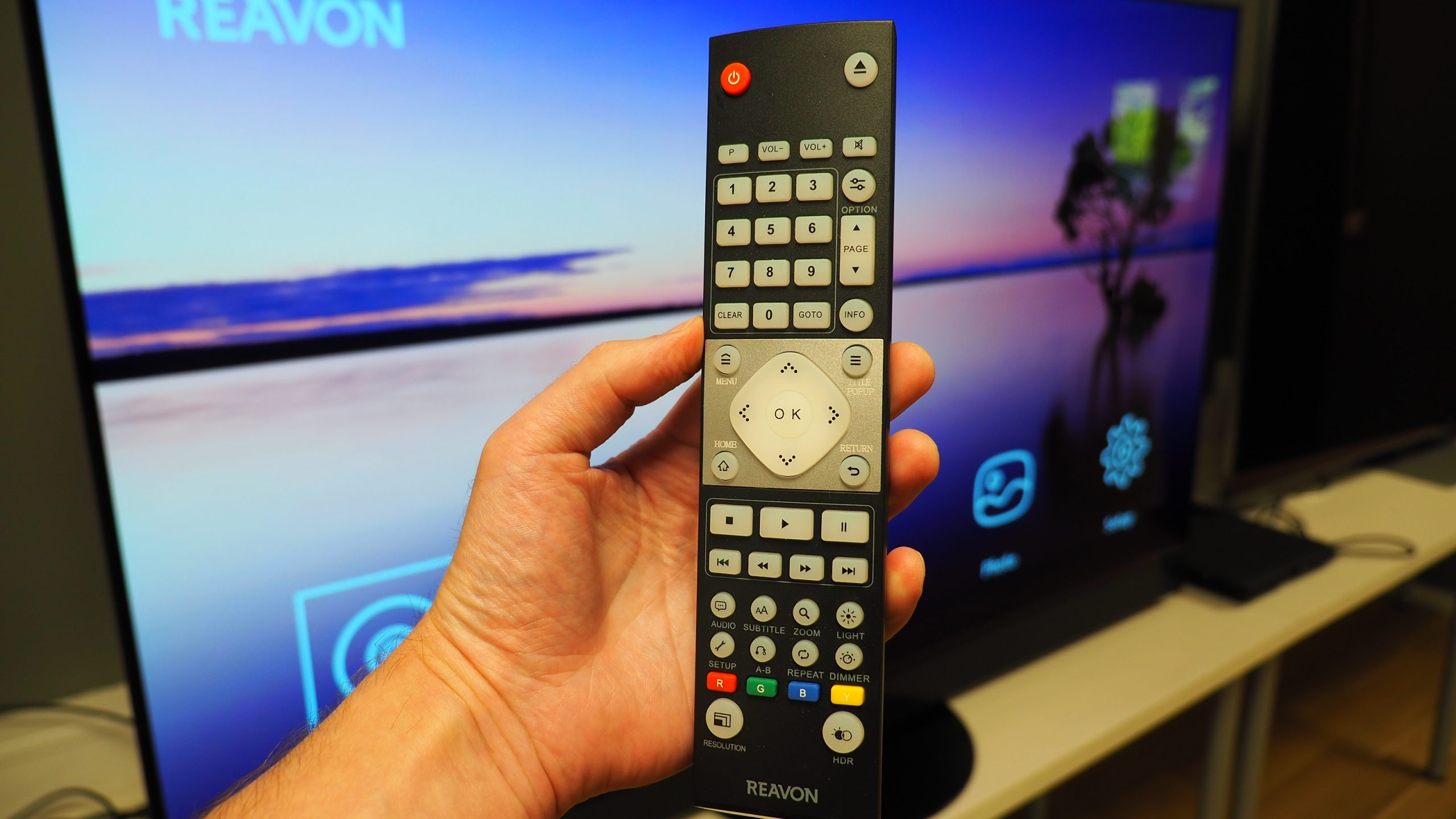 Reavon UBR-X100 remote