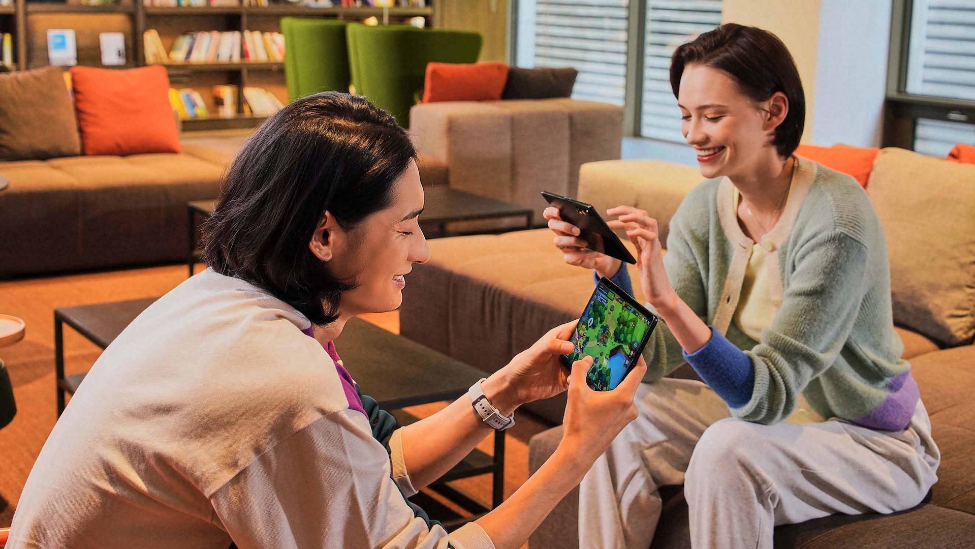 Samsungs bästa bud på framtidens mobil