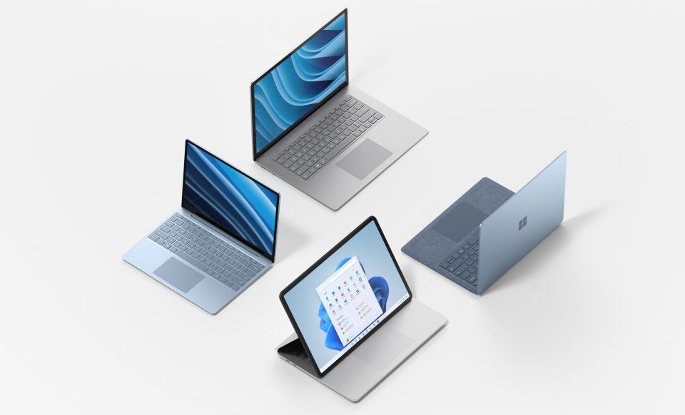 Nya Surface-modeller för Windows 11