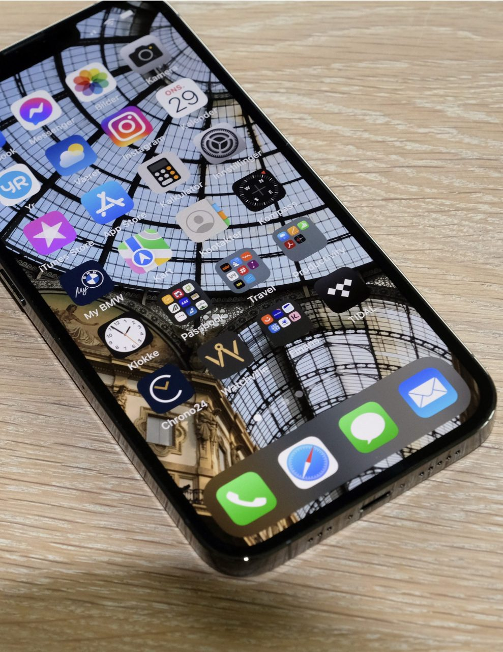 iPhone 13 Pro skjermkant
