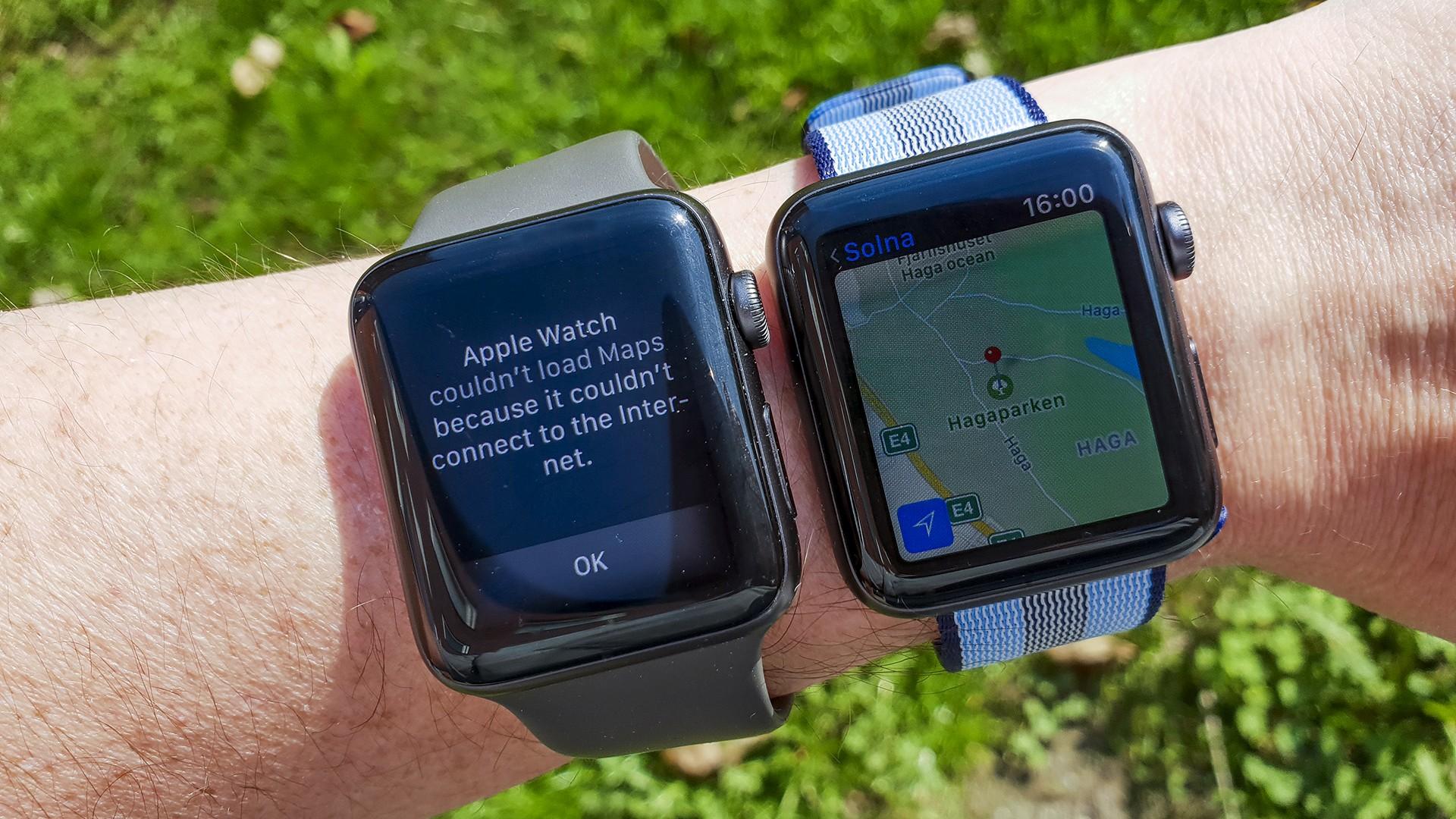 Apple Watch 3 vs Cellular