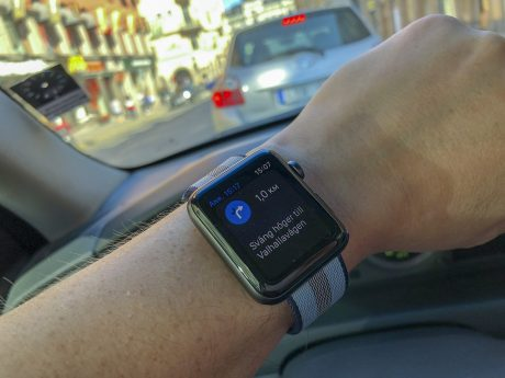 Apple Watch LTE navigation