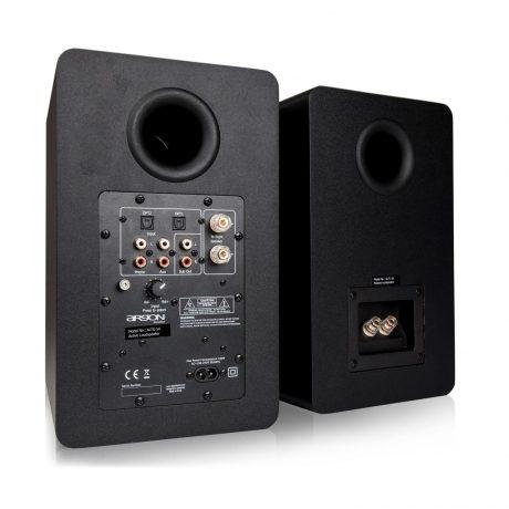 högtalare optisk ingång