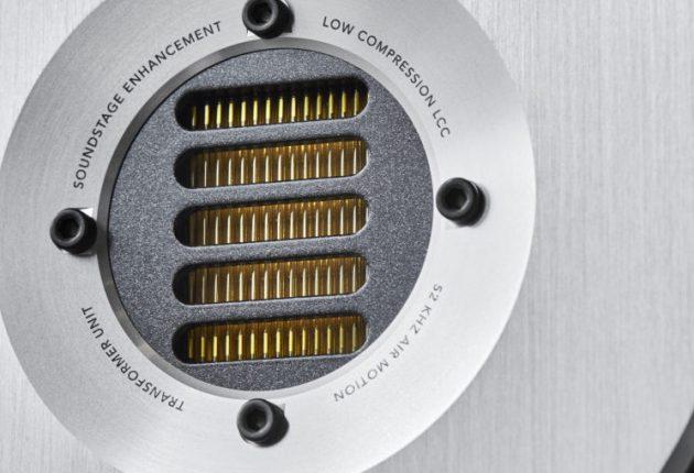 Diskanten är likadan som i SR6 Avantgarde Arreté. Foto: Audiovector