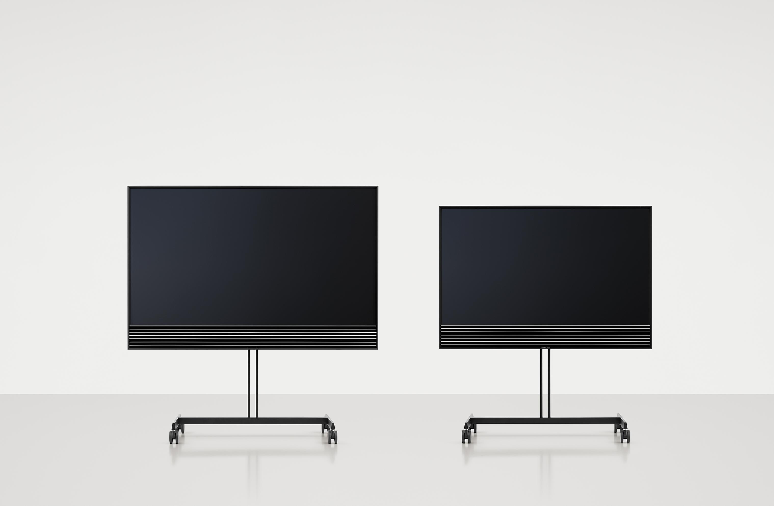 liten 4k tv fr n bang olufsen ljud bild. Black Bedroom Furniture Sets. Home Design Ideas