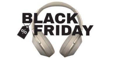 Hörlurar på Black Friday