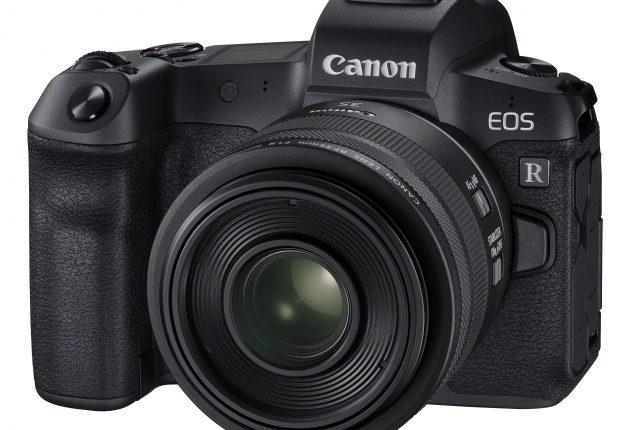 EOS R är den första modellen i en serie spegellösa systemkameror med fullformat från Canon.