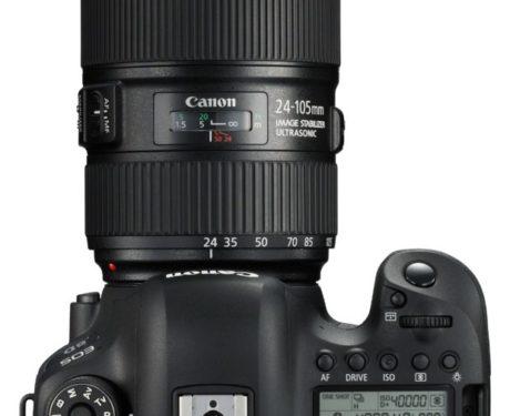 Klassisk Canon-layout. Här finns inte mycket att klaga på. Foto: Canon.