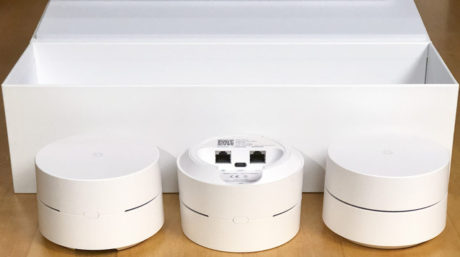Google Wifi hardware