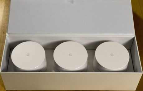 Google Wifi unboxing
