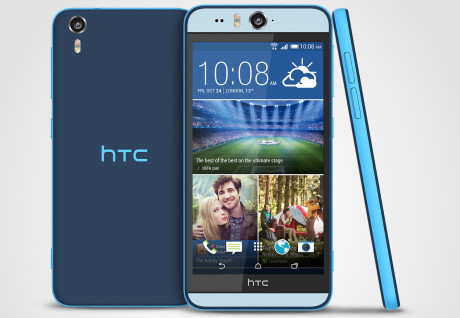 HTC Desire Eye Matt Blue Stack