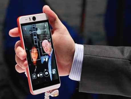 HTC Desire Eye facetracking