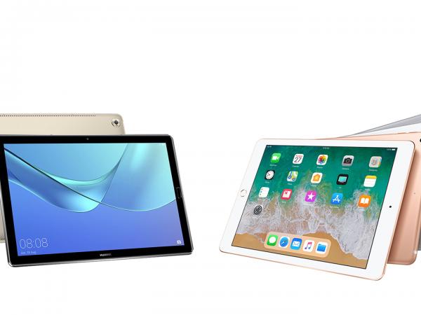 Huawei MediaPad M5 vs Apple iPad 9.7 2018