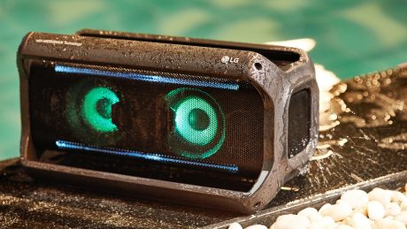 6 trådlösa boomboxes