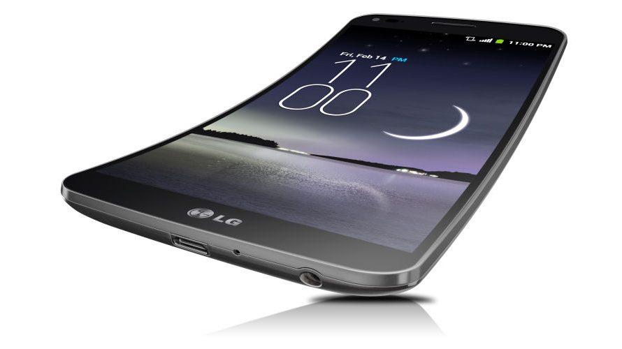 Böjd mobiltoppnyhet från LG