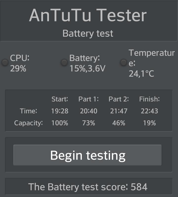 Lg G Flex Antutu battery