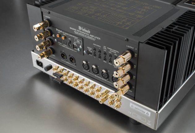 Tillräckligt med ingångar för det mesta, plus utbytbar DAC-modul som gör McIntosh MA9000 extra praktisk.