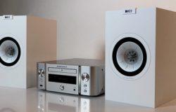 Marantz M-CR611 och KEF Q150
