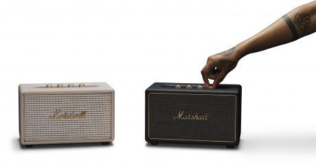 Marshall-högtalarna finns i vitt eller svart ef62817f40544
