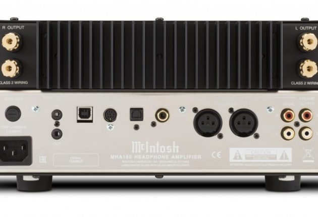 USB-porten stöder upplösningar upp till 384 kHz. Förstärkardelen har 2 x 50 watt till ett par högtalare. Foto: McIntosh