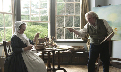 Mr Turner scene from film