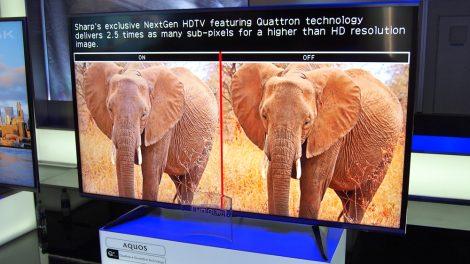 Hybrid-TV från Sharp