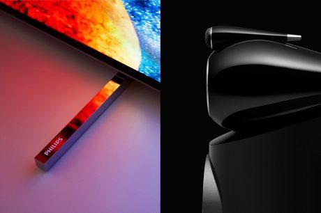 Philips och B&W förbättrar TV-ljudet